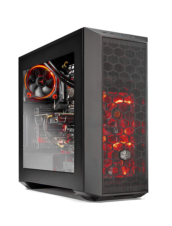SkyTech [GTX 1070 TI] Oracle VR Ready Gaming Computer PC Desktop Intel i7-8700K 3.7Ghz, GTX 1070 Ti 8GB, 120mm... by SKYTECH GAMING