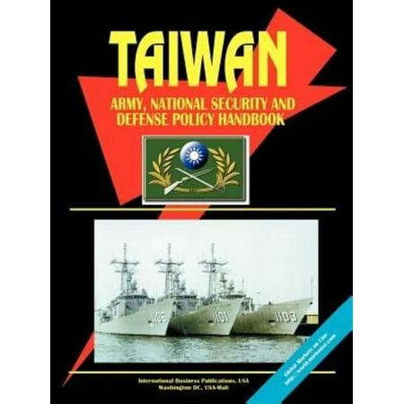 Taiwan Army  National Security And Defense Policy Handbook
