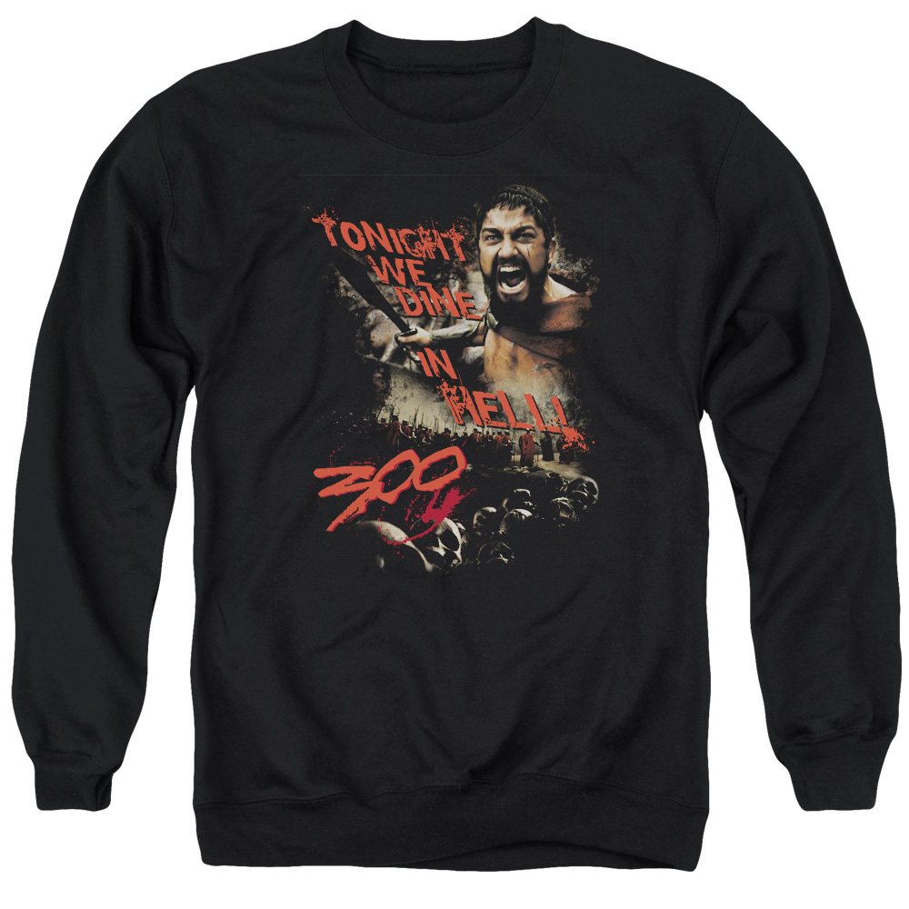 300 Dine In Hell Mens Crewneck Sweatshirt