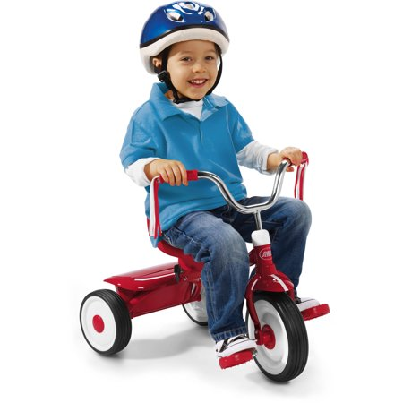 Radio Flyer Ready To Ride Folding Tricycle Red Walmart Com