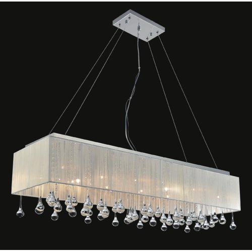 CWI Lighting 17-Light Kitchen Island Pendant by