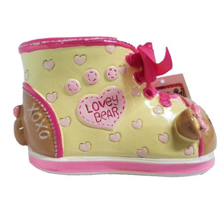Giftcraft - Money Bank - Lovely Bear Sneaker - Bear Bank