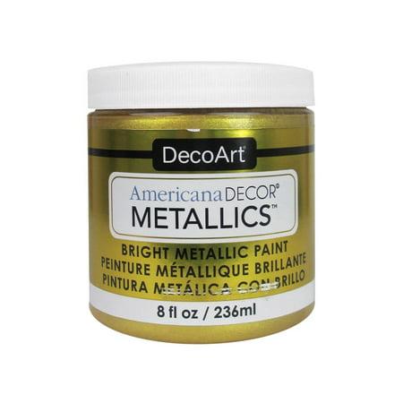 Decoart Americana Decor Metallics 8oz 24K Gold