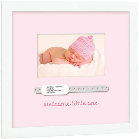 Tiny Ideas Baby Hospital Bracelet Keepsake Frame