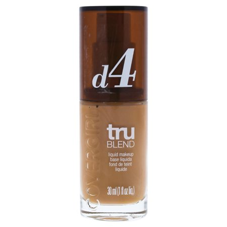 TruBlend Liquid Makeup - # D4 Classic Tan by CoverGirl for Women - 1 oz Foundation