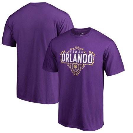 Orlando City SC Fanatics Branded Hometown Collection T-Shirt - Purple](Orlando Party City)