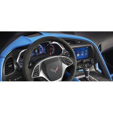 C7 Corvette Stingray/Z06/Grand Sport 2014+ Tension Blue Upper Dash Trim Pad Grand Sport - Corvette Dash Cover