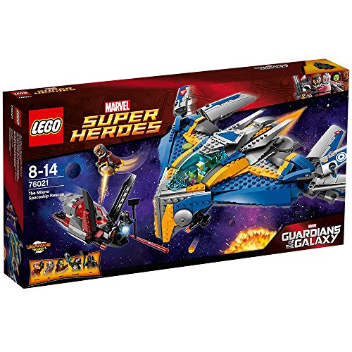 Lego Marvel Super Heroes Guardians of the Galaxy The Milano Spaceship Rescue by