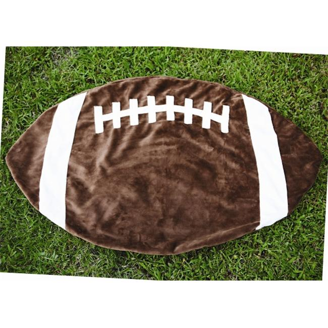Teamees fbjv Touchdown Football Blanket Size Medium