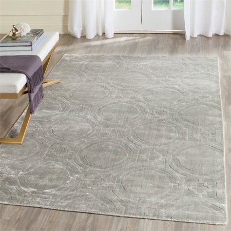 Safavieh Mirage 4' X 6' Loom Knotted Viscose Pile Rug in Blue - image 5 de 7