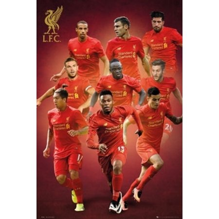 Liverpool FC Players 16/17 Soccer Football Sports Poster 24x36