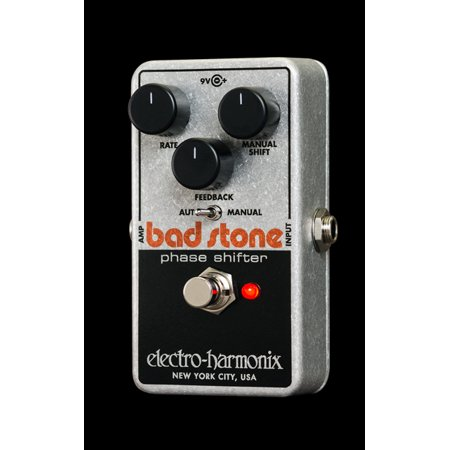 Shifter Effects (Electro Harmonix Bad Stone Analog Phase Shifter Effects Pedal w/ 9V Battery Nano  Part Number: BAD)