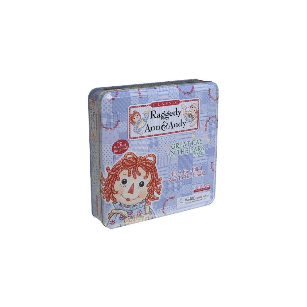 Raggedy Ann & Andy Great Day in the Park Game by Pressman Toy by