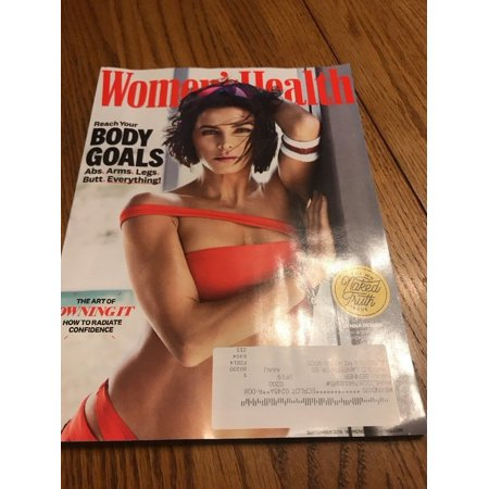 Magazine Ship (Women's Health Magazine The Art Of Owning It September 2018 Ships N 24h )