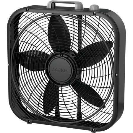 Lasko Cool Colors 20 Quot Box Fan Black Walmart Com