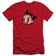 Astro Boy Face Mens Slim Fit Shirt