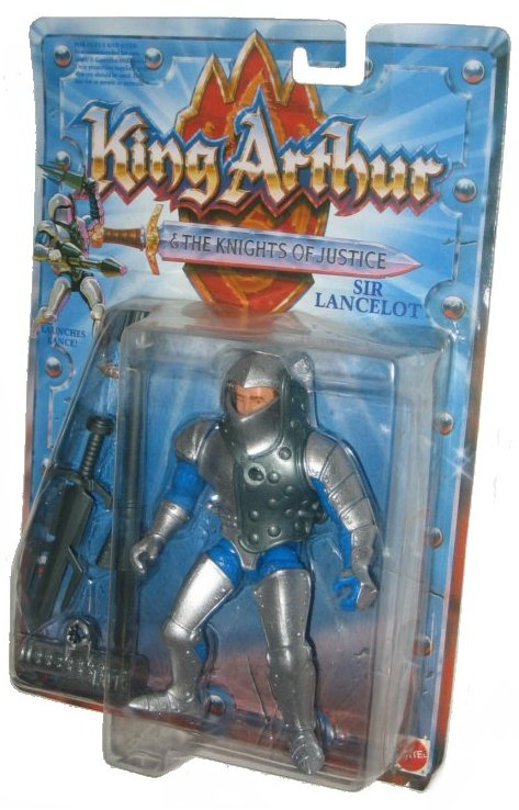 King Arthur & The Knights of Justice Sir Lancelot Vintage Mattel Action Figure by Mattel