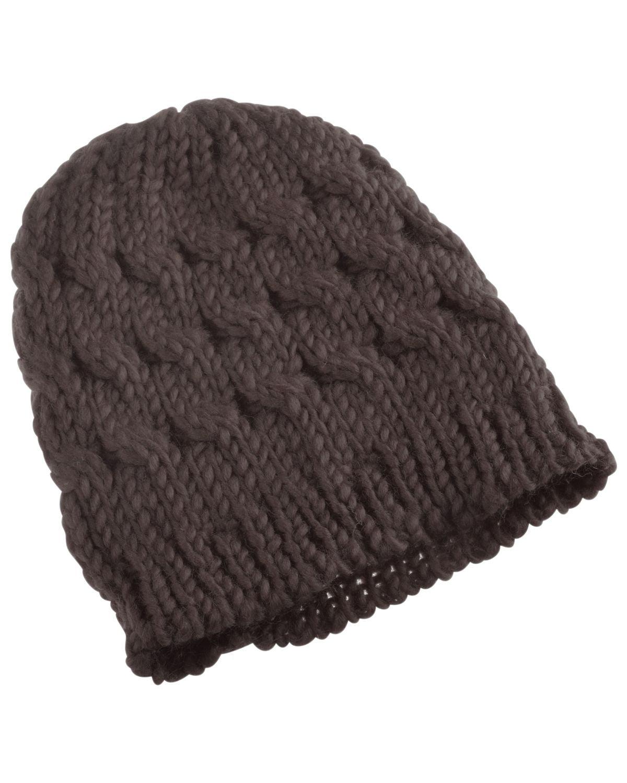 0f3e424adba Beanie Hat for Women by Zodaca Winter Warm Crochet Hat Braided Cap - Brown
