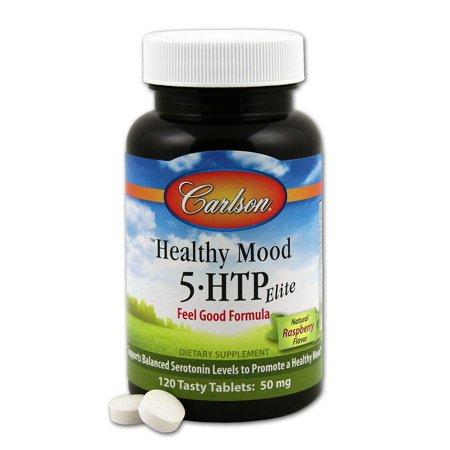 Healthy Mood 5-HTP Elite Carlson Laboratories 120 Tabs - Mood 120 Tabs