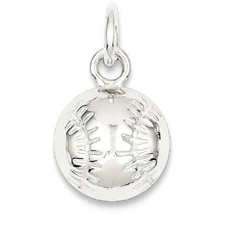 Sports Mom Charm - ICE CARATS 925 Sterling Silver Baseball Pendant Charm Necklace Sport Baseball/softball Fine Jewelry Ideal Gifts For Women Gift Set From Heart