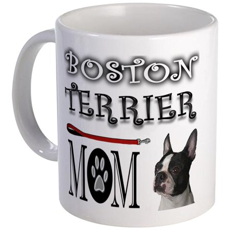 CafePress - BOSTON TERRIER MOM Mug - Unique Coffee Mug, Coffee Cup