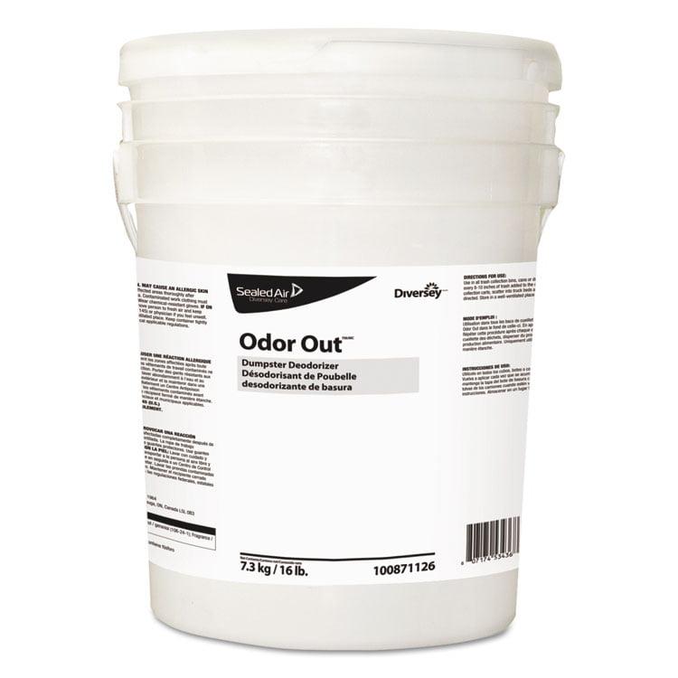 Odor Out Odor Counteractant Pellets, Fresh Floral, Pink, 16 Lb Pail