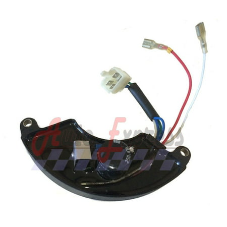 Fits Honda AVR EX3300S, EX4500S Replacement Automatic Voltage Regulator Assembly