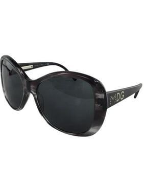 f32a51c27641 Product Image New Dolce   Gabbana DG 4108 1715 87 Grey Transparent Plastic  Sunglasses 57mm
