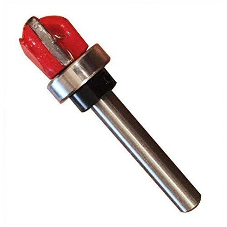 - Templaco CB-4 - Universal Carbide Mortising Bit with Top Bearing