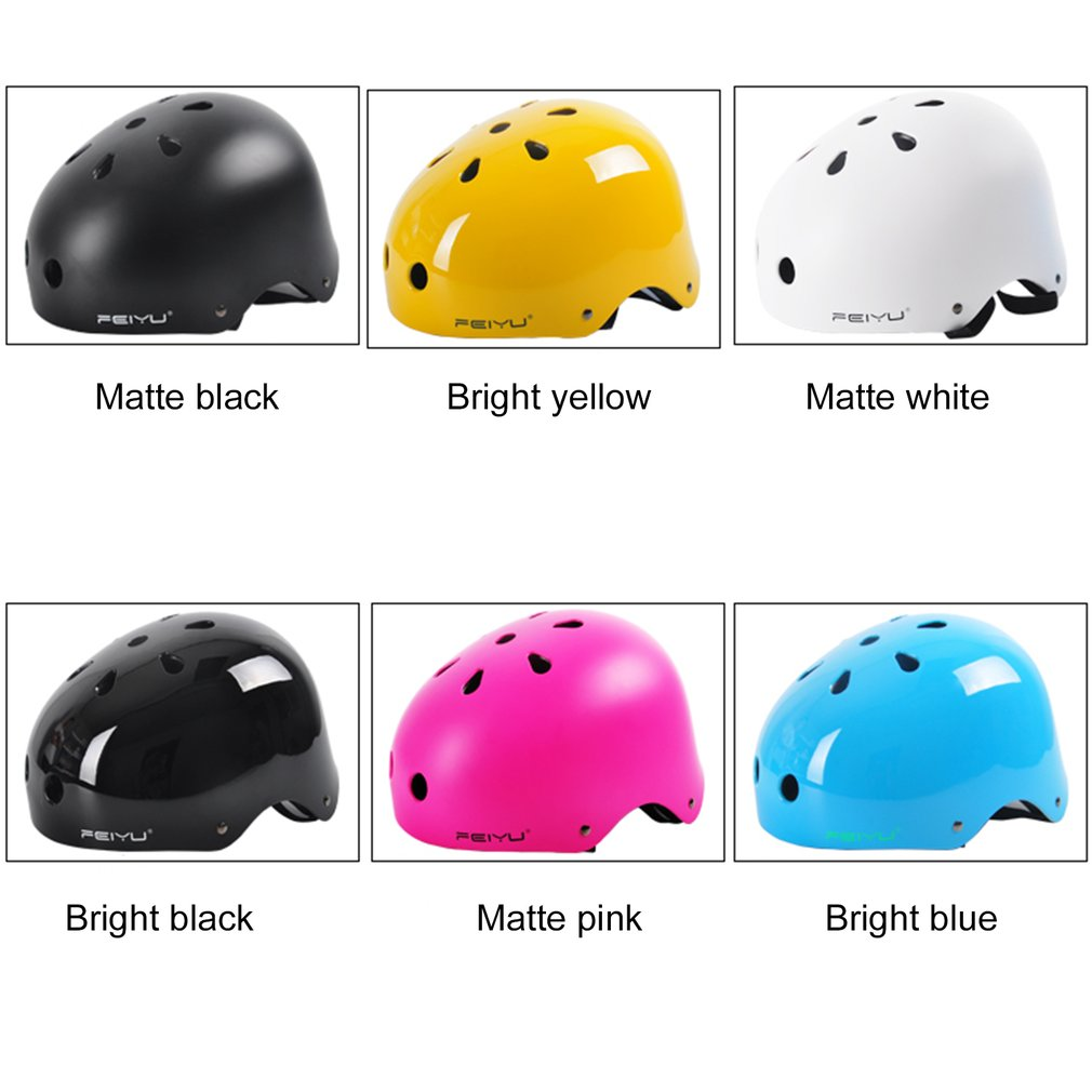 Helmet Feiyu 101 Protective Helmet Bike Riding Skating Skiing Sports Equipment Outer Shell Breathable With Shock... by