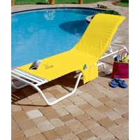 LEMON BRIGHTLY COLORED LOUNGE CHAIR COVER BEACH POOL YARD OUTDOOR PATIO DÉCOR /supplybixlife
