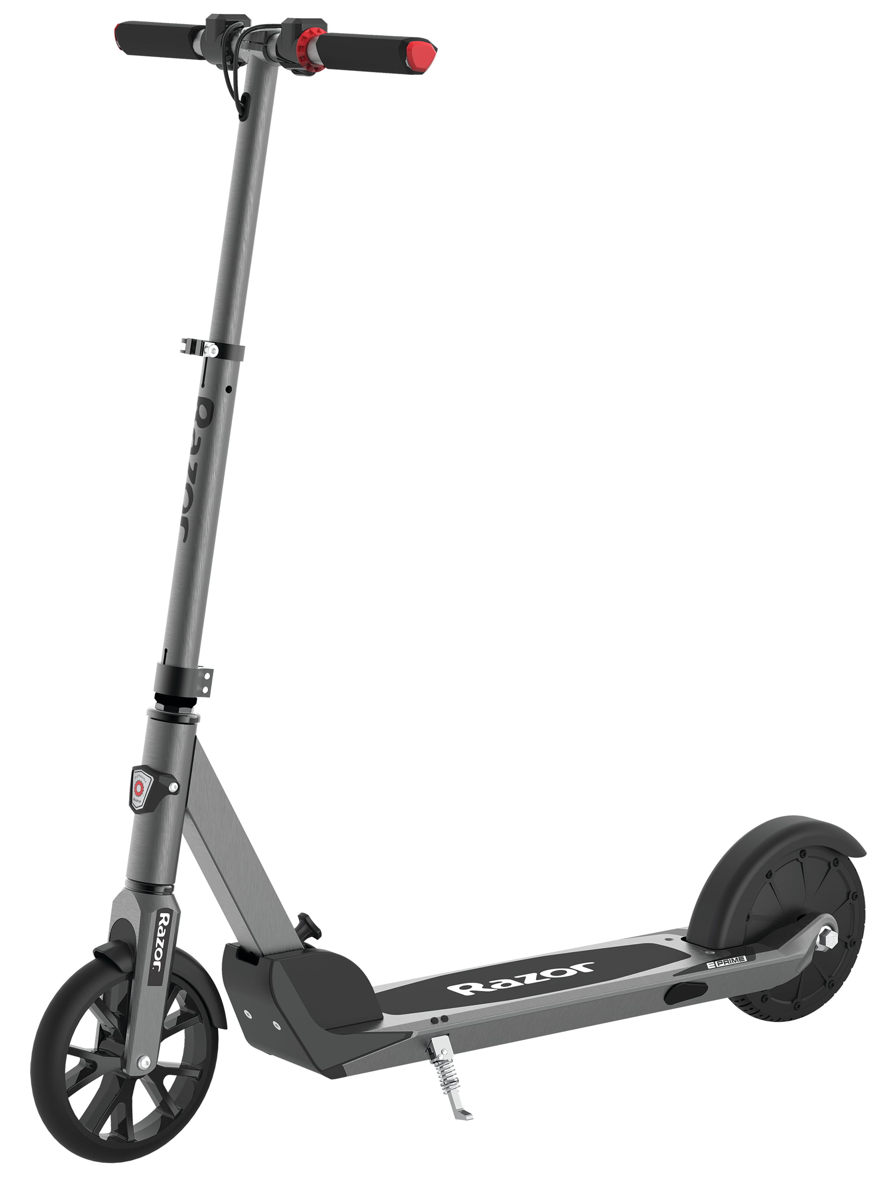 Razor E Prime Folding Adult Electric Scooter - 36V Lithium Battery, Rear Wheel Drive, Extra-Large Airless and Smooth Tires, and Speeds up to 15 mph