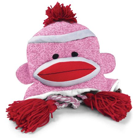 Pennington Bear Company The Original Sock Monkey Hat, Knit, Plush Material, Adult Size - Adult Sock Monkey Hat