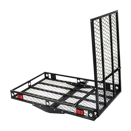 Electric Wheelchair Carrier - Strong Electric Wheelchair Hitch Carrier Mobility Ramp