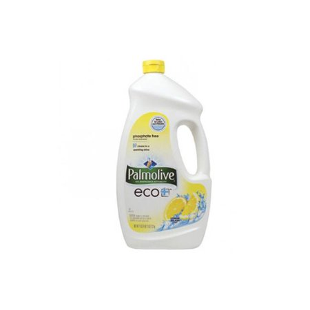 Colgate 42706 75 Oz Palmolive Eco Plus Lemon Splash Automatic Dishwasher Detergent Gel Bottles   Case Of 6