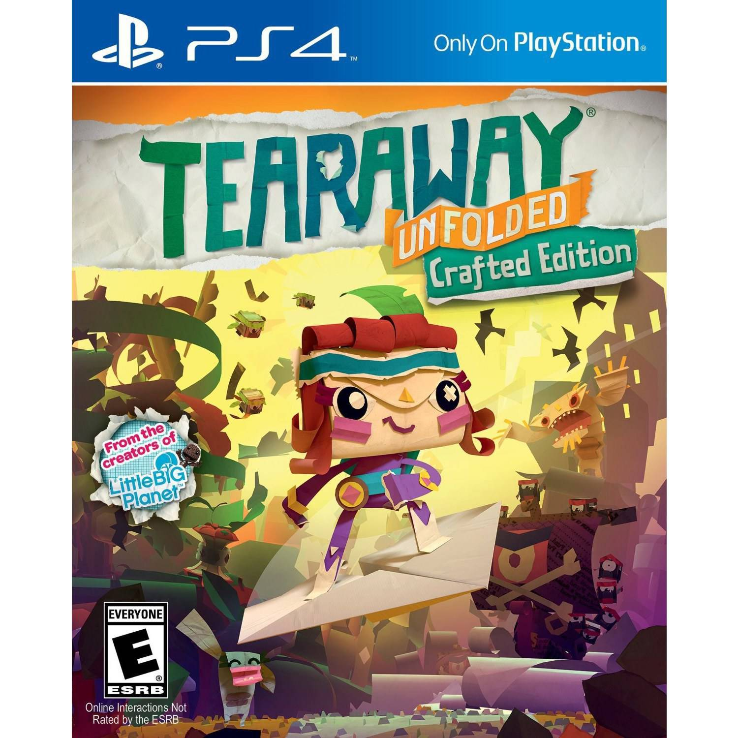 Tearaway Unfolded (PS4) - Pre-Owned