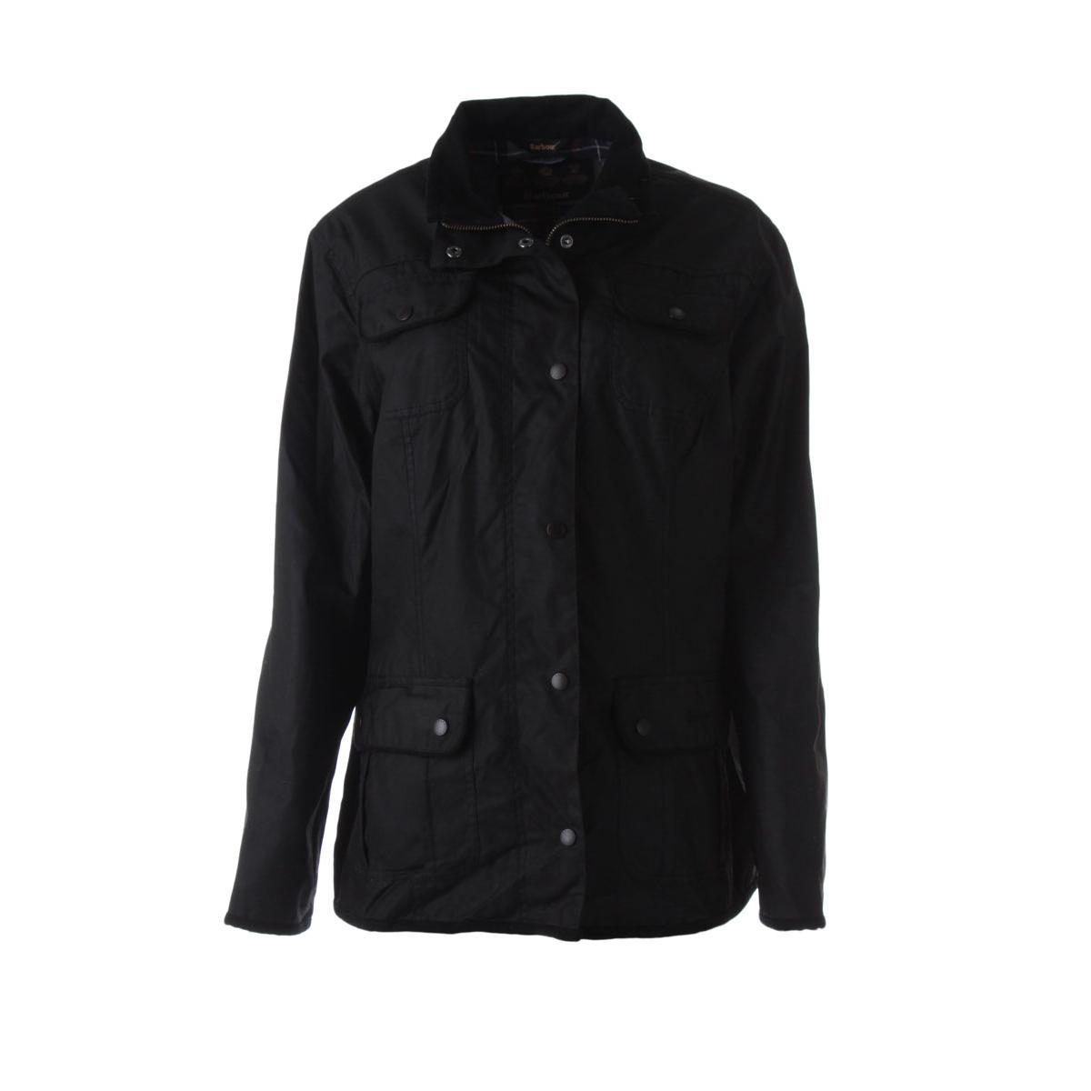 Barbour Womens Waxed Cotton Utility Jacket