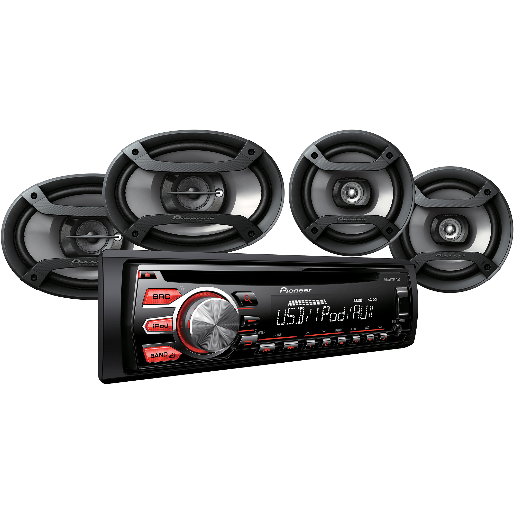 Pioneer 4 Speaker Car Audio System Package 884938350204 | eBay