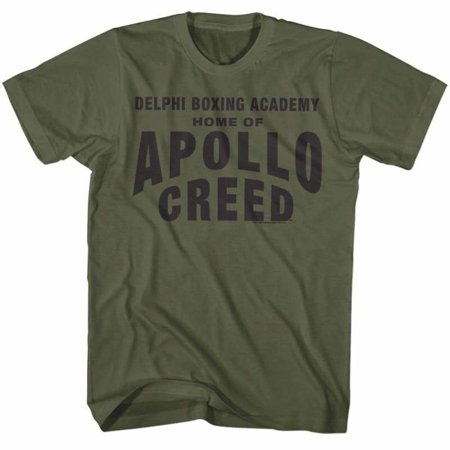 Apollo Halloween Parade (Rocky Movies Apollo Home Adult Short Sleeve T)