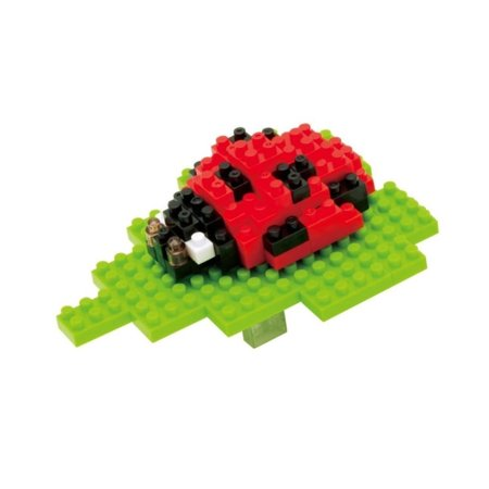 Puzzle 3d, Cute Animal Art Nanoblock Ladybug Kids Jigsaw Puzzle -
