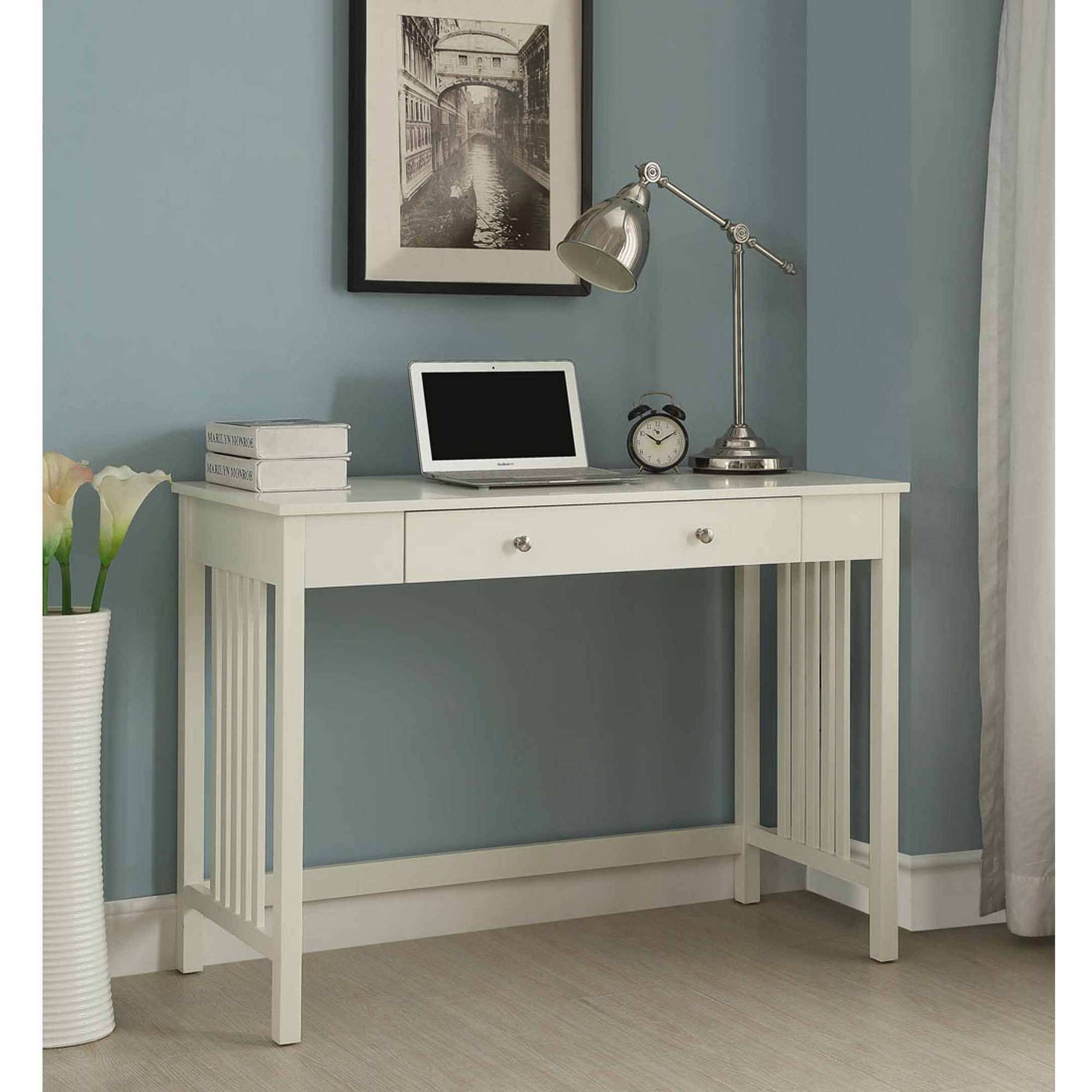 "Convenience Concepts Designs2Go 42"" Mission Desk, White"
