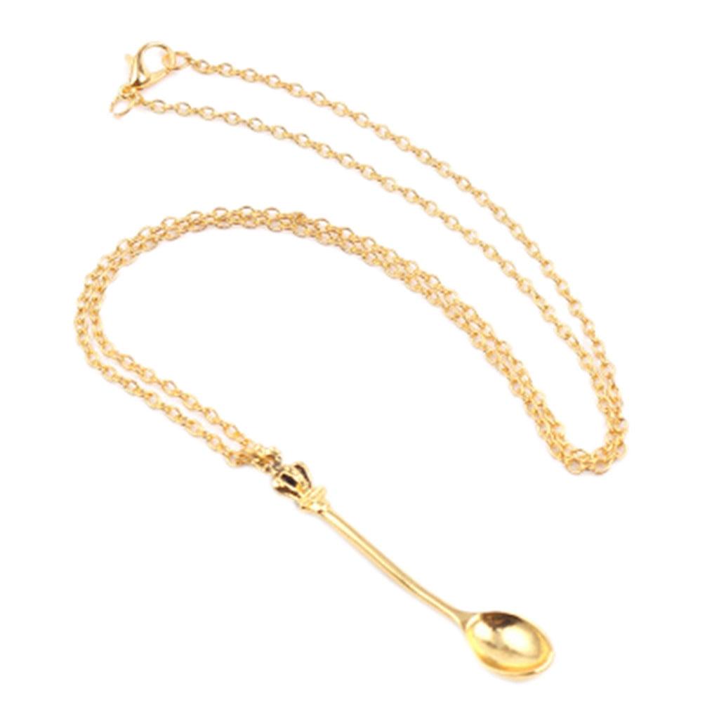 Tiny Spoon Necklace 9