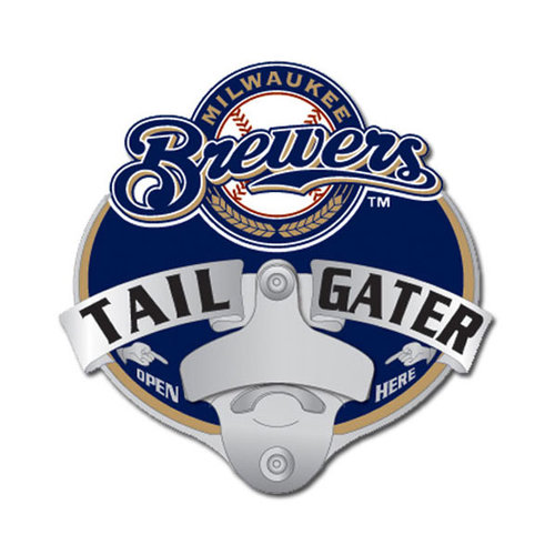 MLB - Milwaukee Brewers Tailgater Hitch Cover