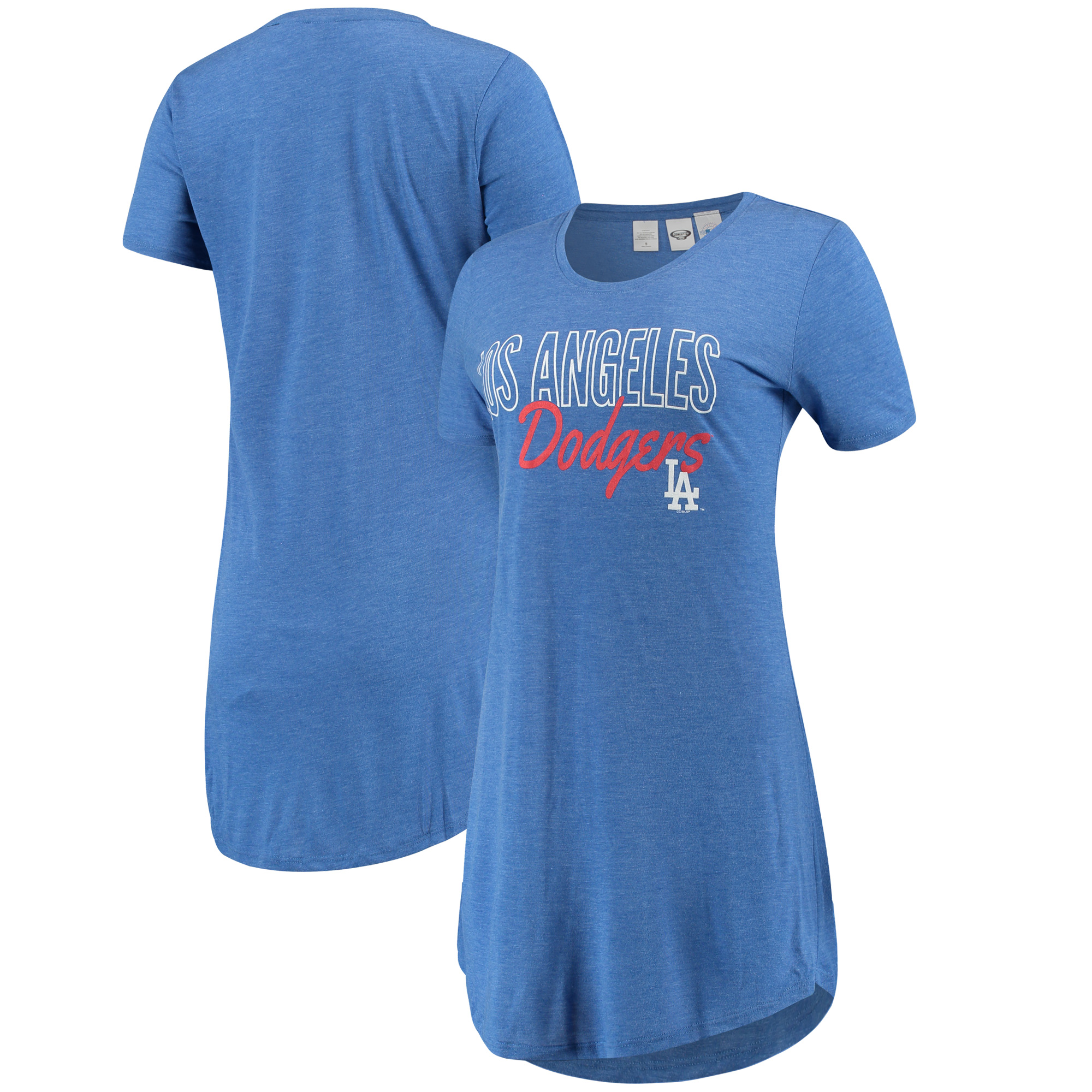 Los Angeles Dodgers Concepts Sport Women's Knit Nightshirt - Royal