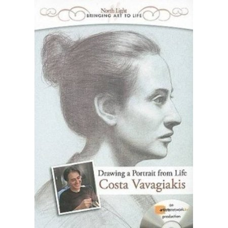 Drawing a Portrait from Life with Costas Vavagiakis [DVD]