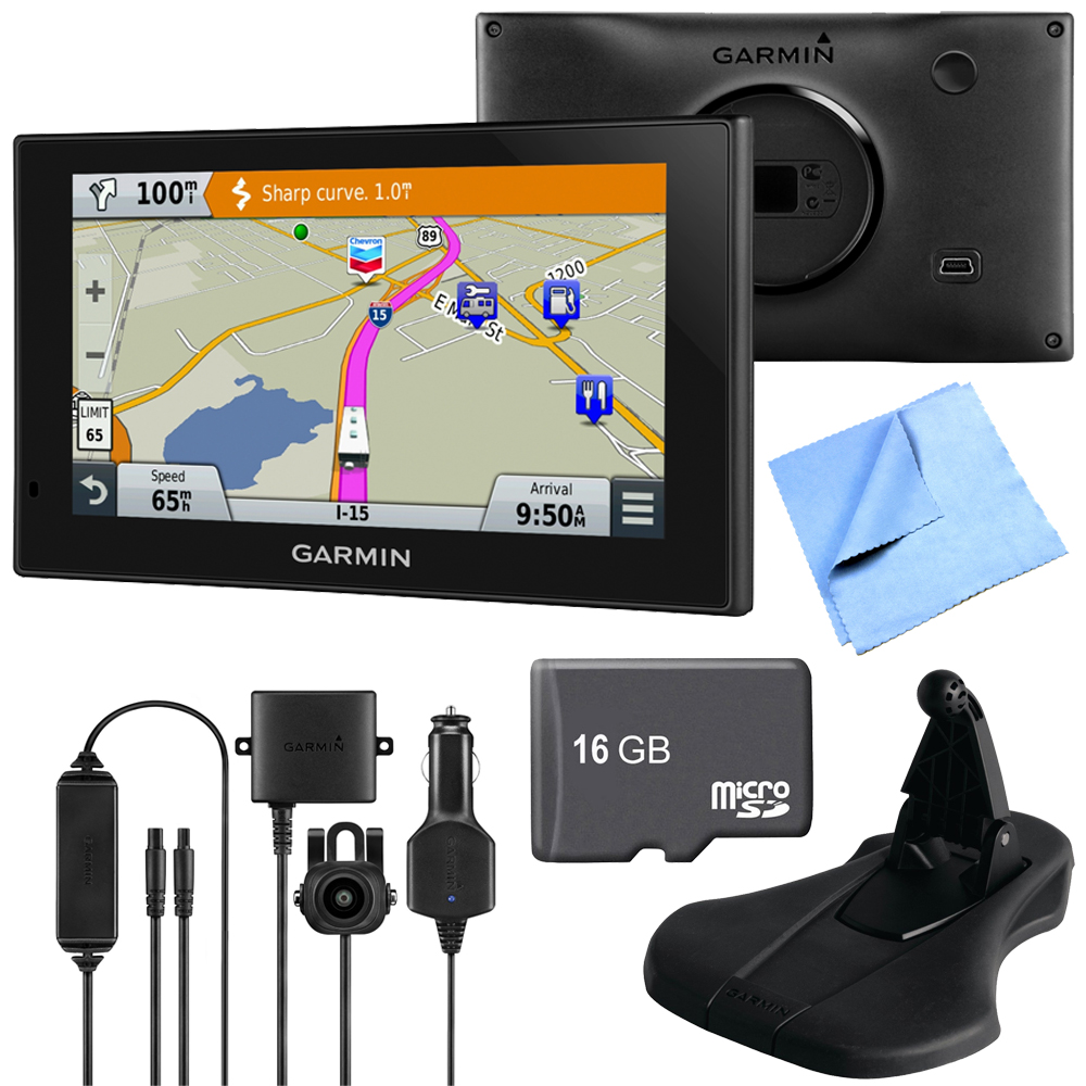 Garmin 010-01535-00 RV 660LMT Automotive GPS Deluxe Backu...
