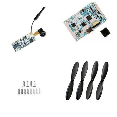 HobbyFlip 5.8Ghz FPV Camera Receiver Controller Propeller Kit for Hubsan X4 H107D+ Plus