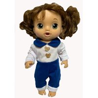 Doll Clothes Superstore Jumpsuit Doll Clothes Outfit Fits Little Baby Dolls And Baby Alive Dolls