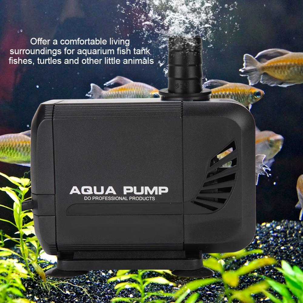 WALFRONT Fish Tank Aquarium Submersible Pump Fountain Pond Water Circulation 110V US Plug,Fish Tank Submersible Pump,Aquarium Water Pump - image 7 de 7