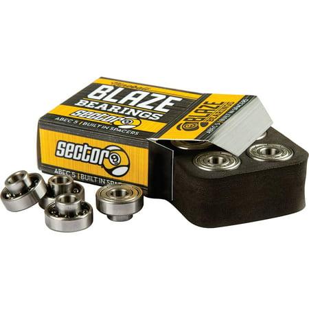Blaze Abec 5 Skateboard Bearings, SECTOR 9 BLAZE ABEC-5 SKATEBOARD BEARINGS By Sector (Sector 9 Cosmic Abec 7 Bearings Review)
